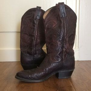 Gorgeous Dan Post Cowgirl boots size 9M